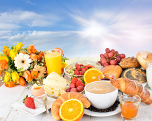 Good morning sunshine: Enjoy your breakfast :)