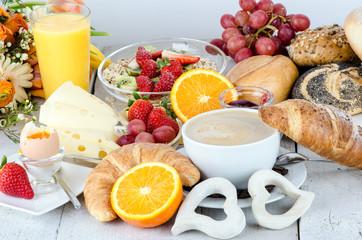 Good morning: enjoy your breakfast :)