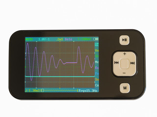 A hand held Oscilloscope.