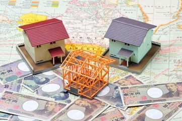 お金と住宅のイメージ