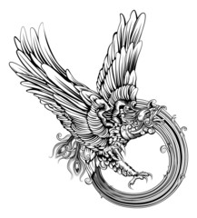 Phoenix bird or eagle