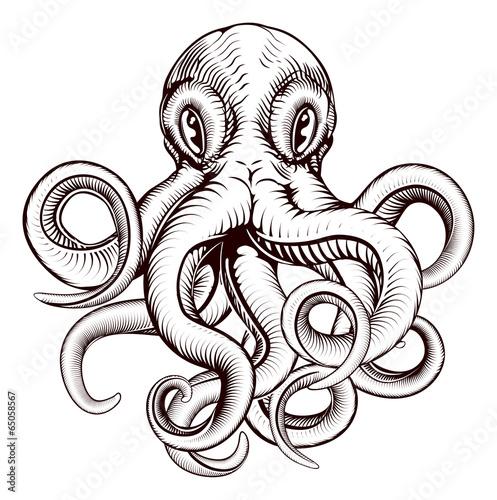 Octopus illustration - 65058567