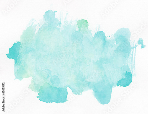 Leinwanddruck Bild Watercolor background