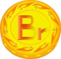 Belarus ruble coin