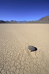 Racetrack Stone in Death Valley