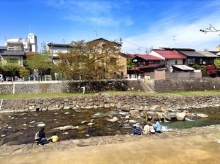 Family time in Takayama