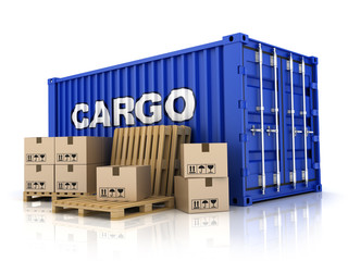 Container and box