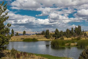 Huayllarqocha wetland Cuzco Peru