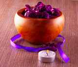 Pot pourri and candle - 65062316