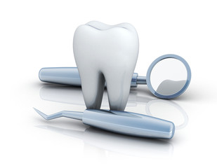 Tooth and medical equipment