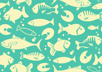 ess background of fish