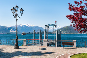 Lake Maggiore, Laveno, Italy