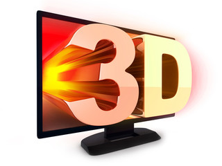 TV and sign 3d