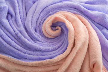decorative towel - wave