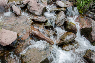 Cascade on the river