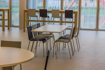 company cafeteria