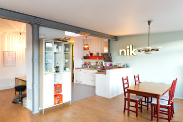 Loftwohnung mit offener Wohnküche