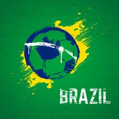 Brazil football background