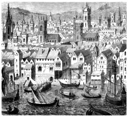 City : a View 17th century