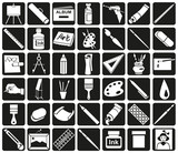 Fototapety art icons