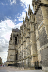 Notre-Dame de Reims Cathedral. Reims, France