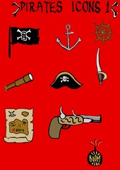Pirates Icons 1