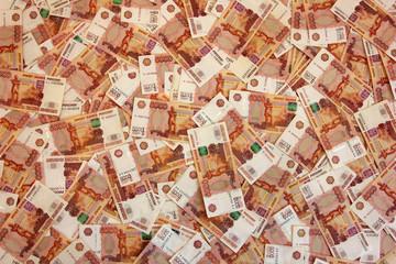 Russian banknotes