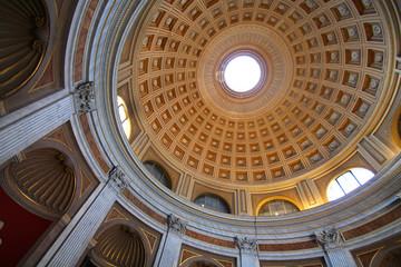 Rome / Le Vatican - coupole du musée
