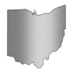 High detailed vector map - Ohio.
