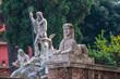 Statue a Piazza del Popolo