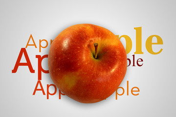 Red Apple alfabet