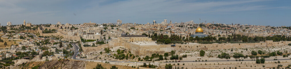 Jerusalem . Panoramic view
