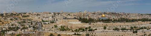 Foto op Canvas Midden Oosten Jerusalem . Panoramic view