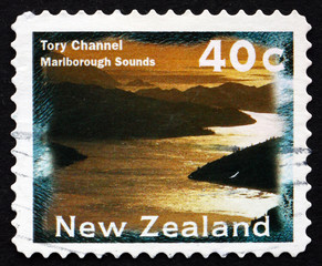 Postage stamp New Zealand 1996 Tory Channel, Marlborough Sounds