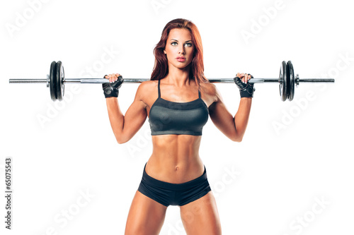 fitness woman - 65075543