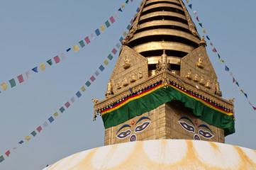 Swayabhunath stuoa in Kathmandu, Nepal