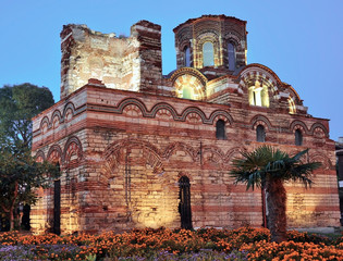 Nesebar, church, buildings from the Middle Ages