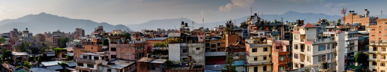 Panorama Kathmandu city, Nepal