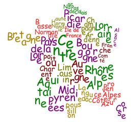 Régions françaises 2014