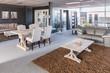 Showroom of modern furniture - 65077535