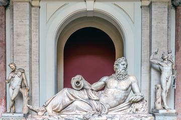 Statue of Neptune, Vatican Museum