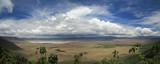 Ngorongoro Krater Panorama, Tanzania, Serengeti