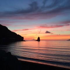 tramonto a Vulcano
