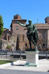 Italie / Rome - Statue d'Auguste