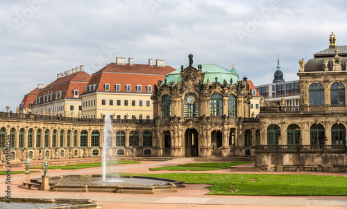 Zwinger Palace in Dresden, Saxony, Germany - 65080514