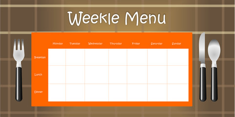 Weekle Menu