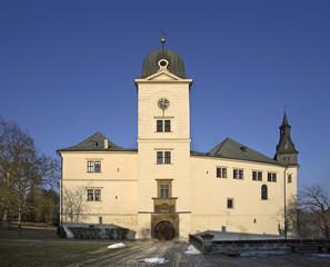 Castle Hruby Rohozec in Turnov. Czech Republic