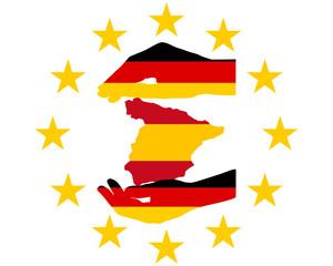 Deutsche Hilfe für Spanien