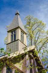 Chapel Steeple in Spring