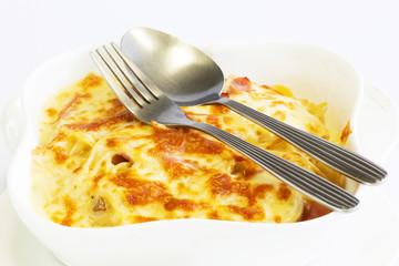 Spaghetti sauce cheese